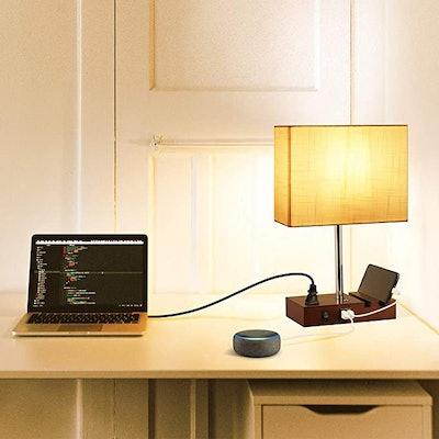 Dott Arts USB Touch Control Table Lamp