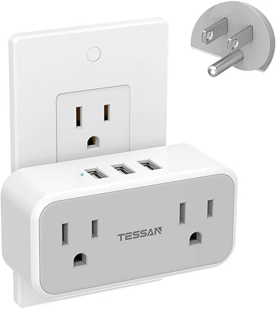 TESSAN Double Electrical Outlet Splitter