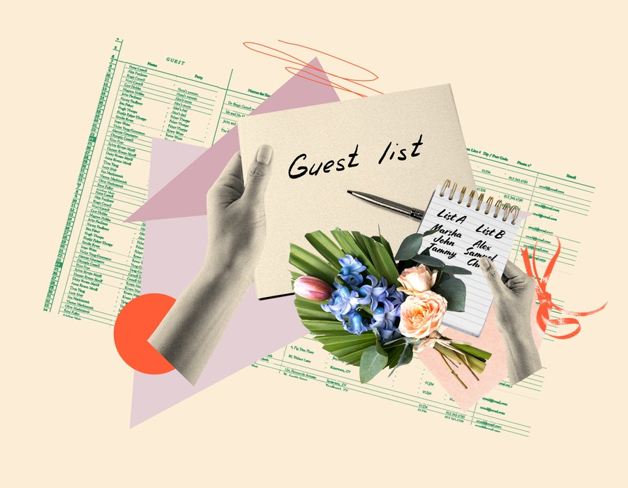 Planning your wedding guest list doesn't have to be stressful.
