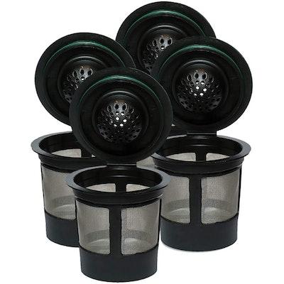 iPartsPlusMore Reusable K Cups (4-Pack)