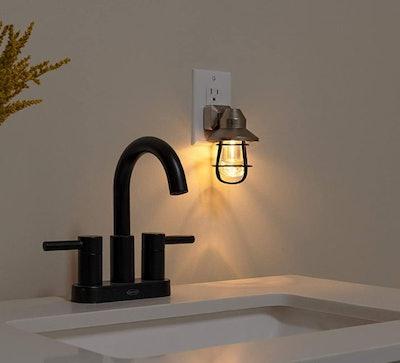 GE Vintage LED Plug-in Night Light