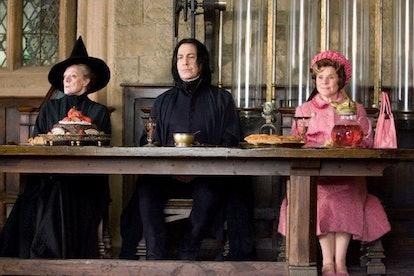 Maggie Smith, Alan Rickman, Imelda Staunton in the Harry Potter franchise