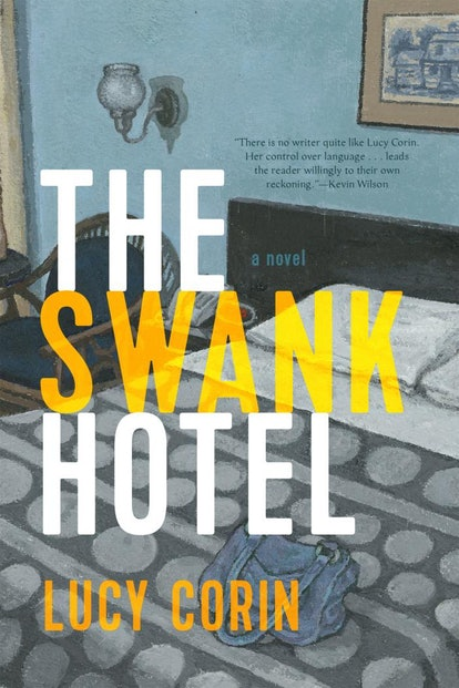 The book cover for The Swank Hotel.