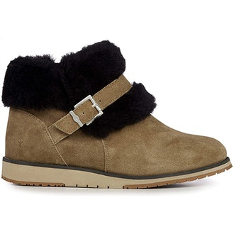 EMU Australia Oxley Fur Cuff Deluxe Wool Boots