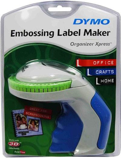DYMO Organizer Xpress Handheld Embossing Label Maker