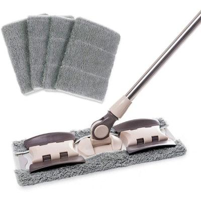 MAYSHINE Microfiber Hardwood Floor Mop