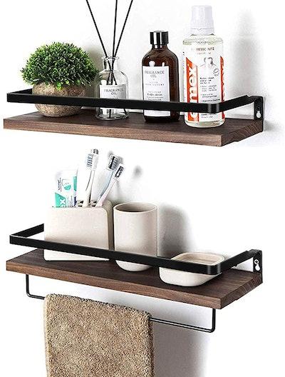 SODUKU Floating Wall Mounted Shelves (2-Pack)