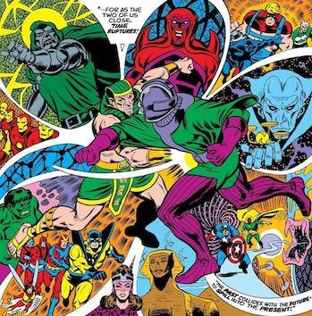 Eternals theory Kang the conqueror rama tut comics