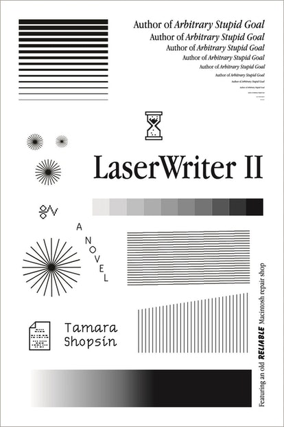 The book cover for LaserWriterII.
