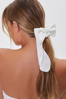 Long-Tail Bow Scrunchie