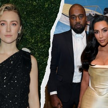 How Saoirse Ronan Channeled Kim & Kanye For Her Latest Role