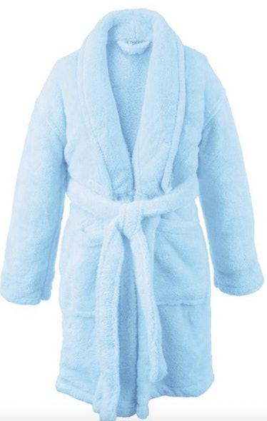 Kids Microfiber Fleece Shawl Robe