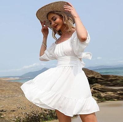 Exlura Ruffled Dress