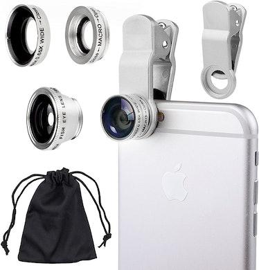 CamKix Universal 3 in 1 Camera Lens Kit For Smartphones