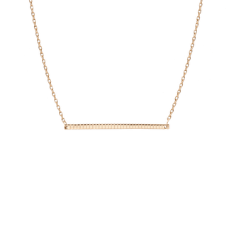 Aurate Infinity Bar Necklace