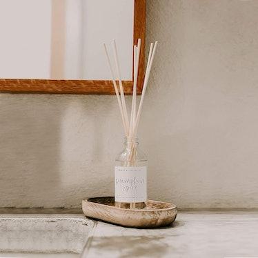 Sweet Water Decor Pumpkin Spice Reed Diffuser Set