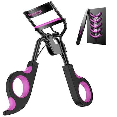 Kaasage Eyelash Curler with Pads