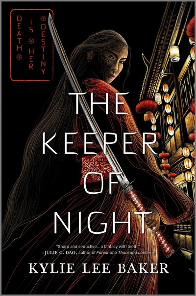'The Keeper of Night' by Kylie Lee Baker
