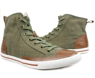Burnetie High Top Vintage Sneaker