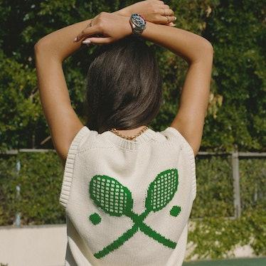 Racquets Sweater Vest