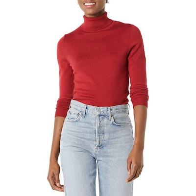 Amazon Essentials Lightweight Turtleneck Sweater