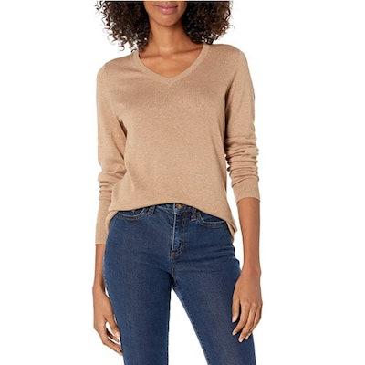 Amazon Essentials Lightweight V-Neck Sweater