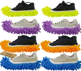 M-jump Duster Mop Slippers (4 Pairs)
