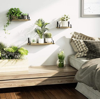 Love-KANKEI Floating Shelves Wall Mounted  (3-Pack)