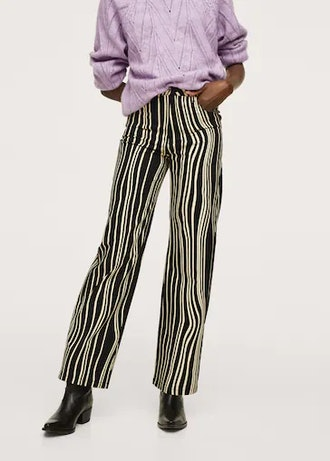 Stripes Printed Trousers