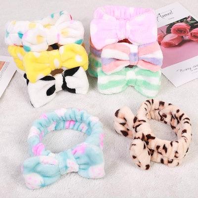 Hishexin Spa Headband (8 Pack)