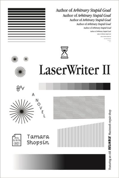 'LaserWriter II' by Tamara Shopsin