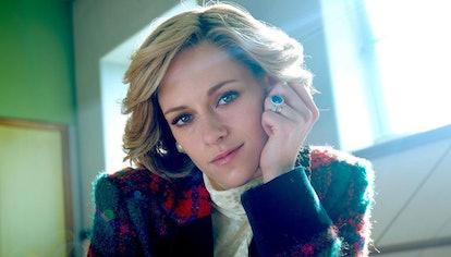 Kristen Stewart as Princess Diana in 'Spencer' movie.