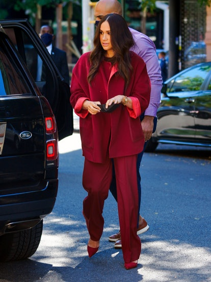Meghan, Duchess of Sussex is seen on September 24, 2021 in New York City.