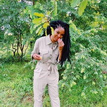 54 Thrones founder Christina Funke Tegbe takes Bustle through her trip to Accra, Ghana as the skinca...