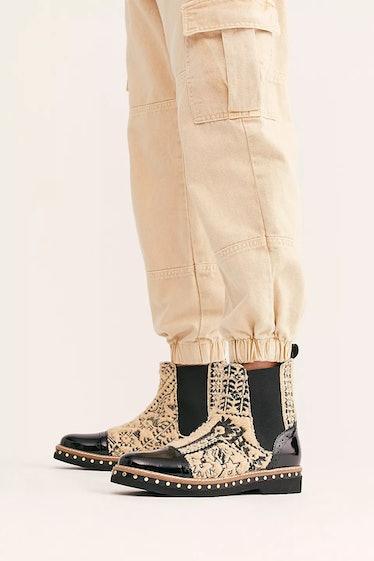 Free People's Textile Atlas Chelsea Boots