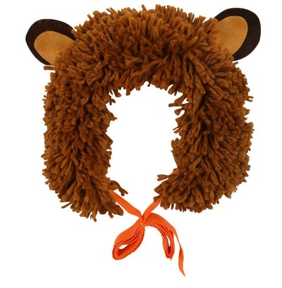 Image of a kid's lion's-mane headband from Meri Meri.