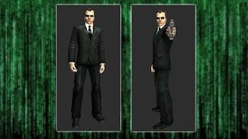 Agent Gray in The Matrix Online.