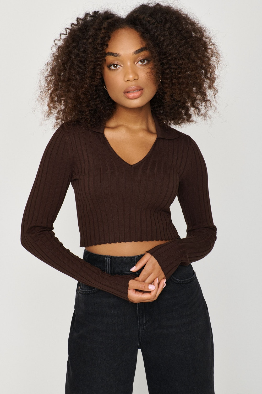 Jackie Polo Sweater