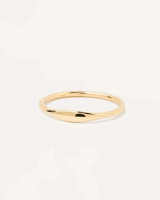 PDPAOLA's yellow gold ring.
