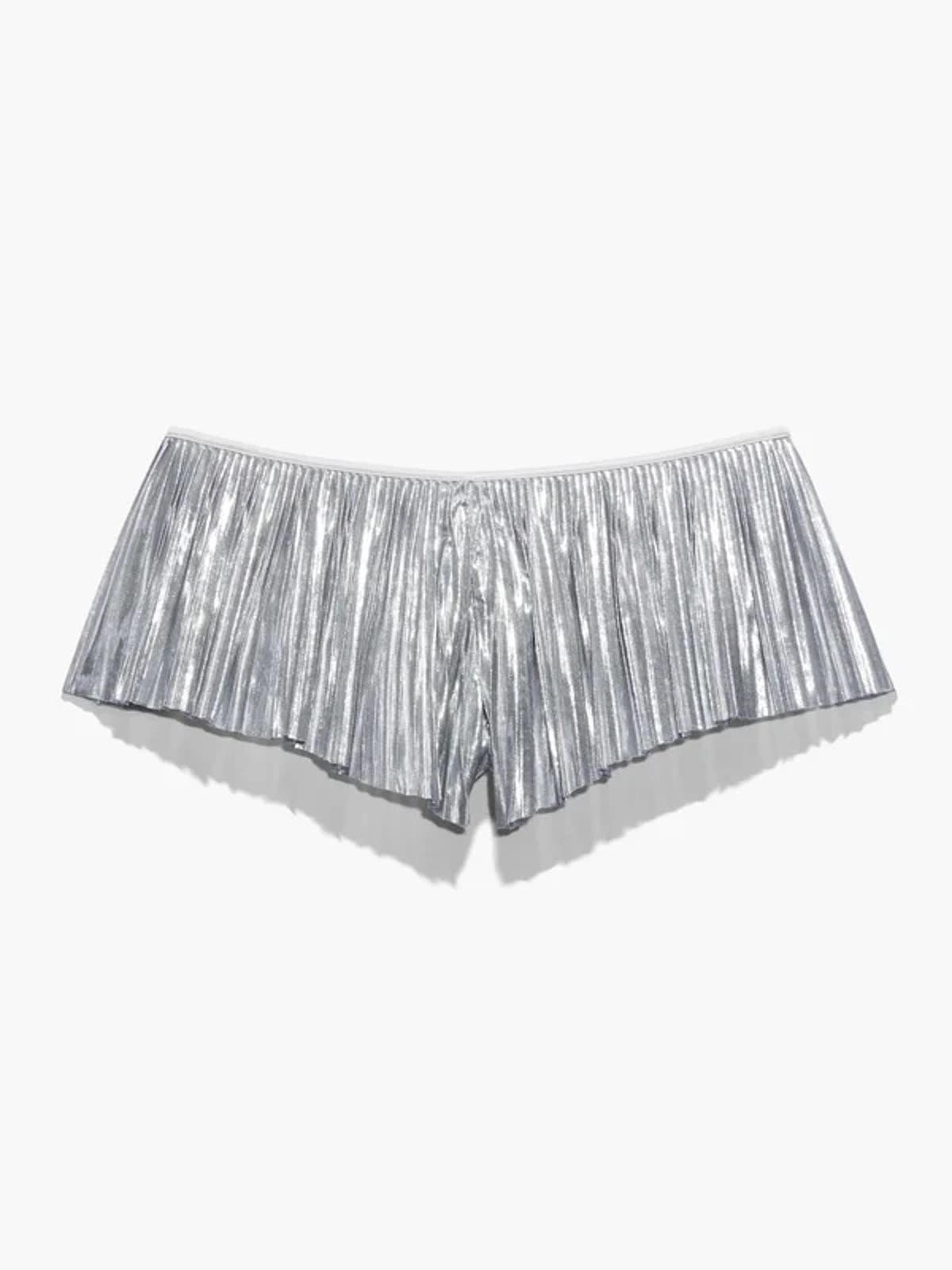 Pleated Lamé Short from Savage X Fenty.
