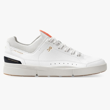 The Roger Centre Court sneaker in White/Flame from On.