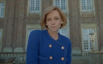 Kristen Stewart as Princess Diana in the 'Spencer' film.