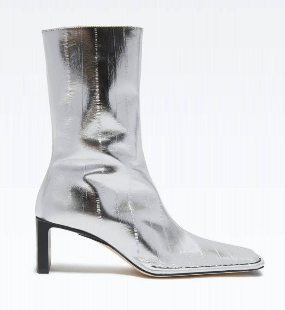 Anitha Silver Boots