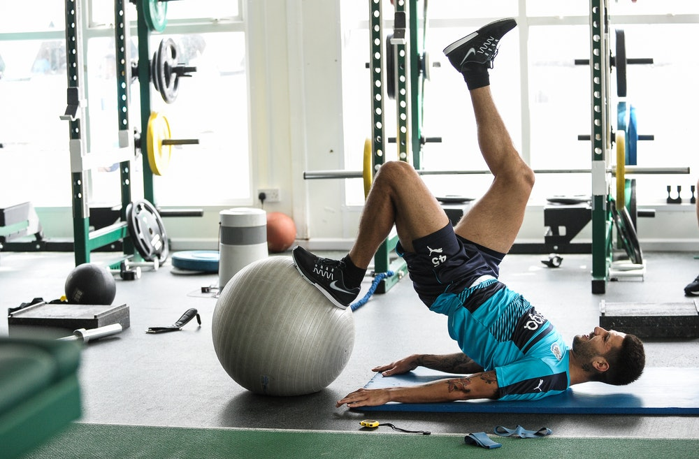 gym, stretch