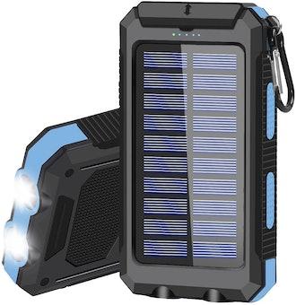 Solar Charging 20000mAh Portable Power Bank
