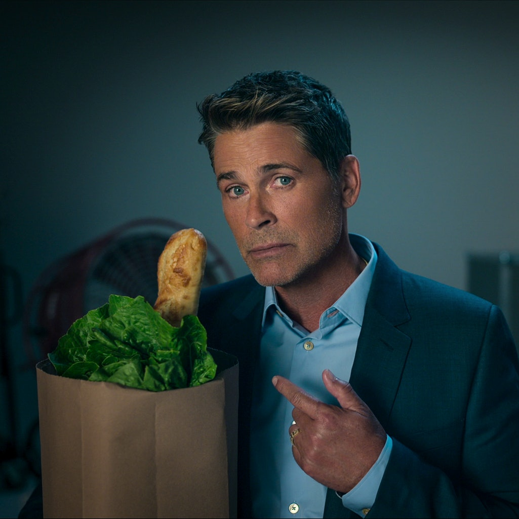 Actor Rob Lowe hosts the comedy series 'Attack Of The Hollywood Clichés!,' via the Netflix press sit...