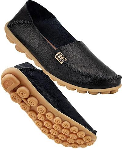 DUOYANGJIASHA Leather Loafers