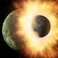 Why does Earth have a Moon? New studies reveal its chaotic origin