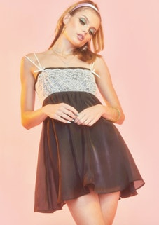 Sugar Thrillz Broadway Nights Slip Dress