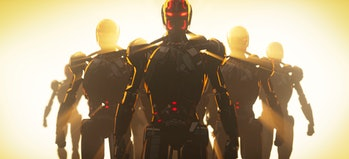 The Ultron army seen at the end of What If...? Episode 7